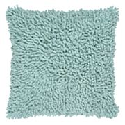 Rizzy Home Shag Solid Throw Pillow