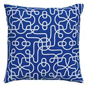Rizzy Home Rolling Scroll Geometric Throw Pillow