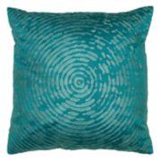 Rizzy Home Circular Abstract Motif Throw Pillow