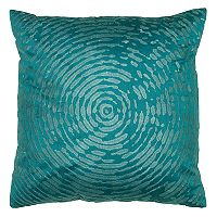Rizzy Home Circular Abstract Motif Throw Pillow