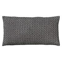 Rizzy Home Textured Solid Oblong Throw Pillow