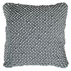 Rizzy Home Ball Beads Throw Pillow