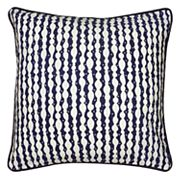 Laura Fair By Rizzy Home Corded Stripe Throw Pillow