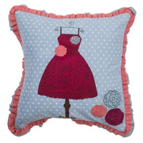 Rizzy Home Children's Dress Throw Pillow