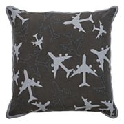 Rizzy Home Planes Throw Pillow