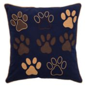 Rizzy Home Paws Throw Pillow