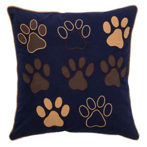 Rizzy Home Paws Throw Pillow