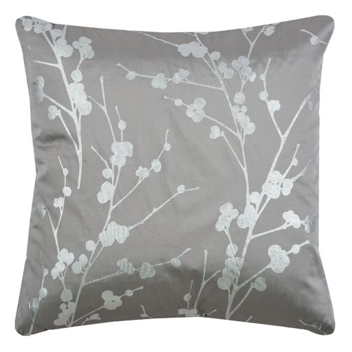 Rizzy Home Botanical Foil Print Throw Pillow