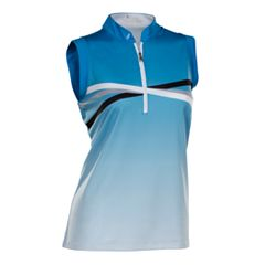Plus Size Nancy Lopez Maxi Sleeveless Golf Polo