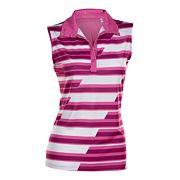 Plus Size Nancy Lopez Gear Sleeveless Golf Polo