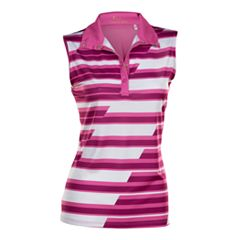 Plus Size Nancy Lopez Gear Sleeveless Golf Polo