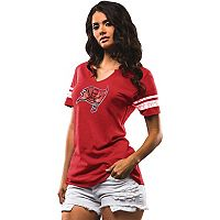 Women's Majestic Tampa Bay Buccaneers Go For Two Tee