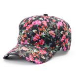 madden NYC Floral Brim Baseball Cap