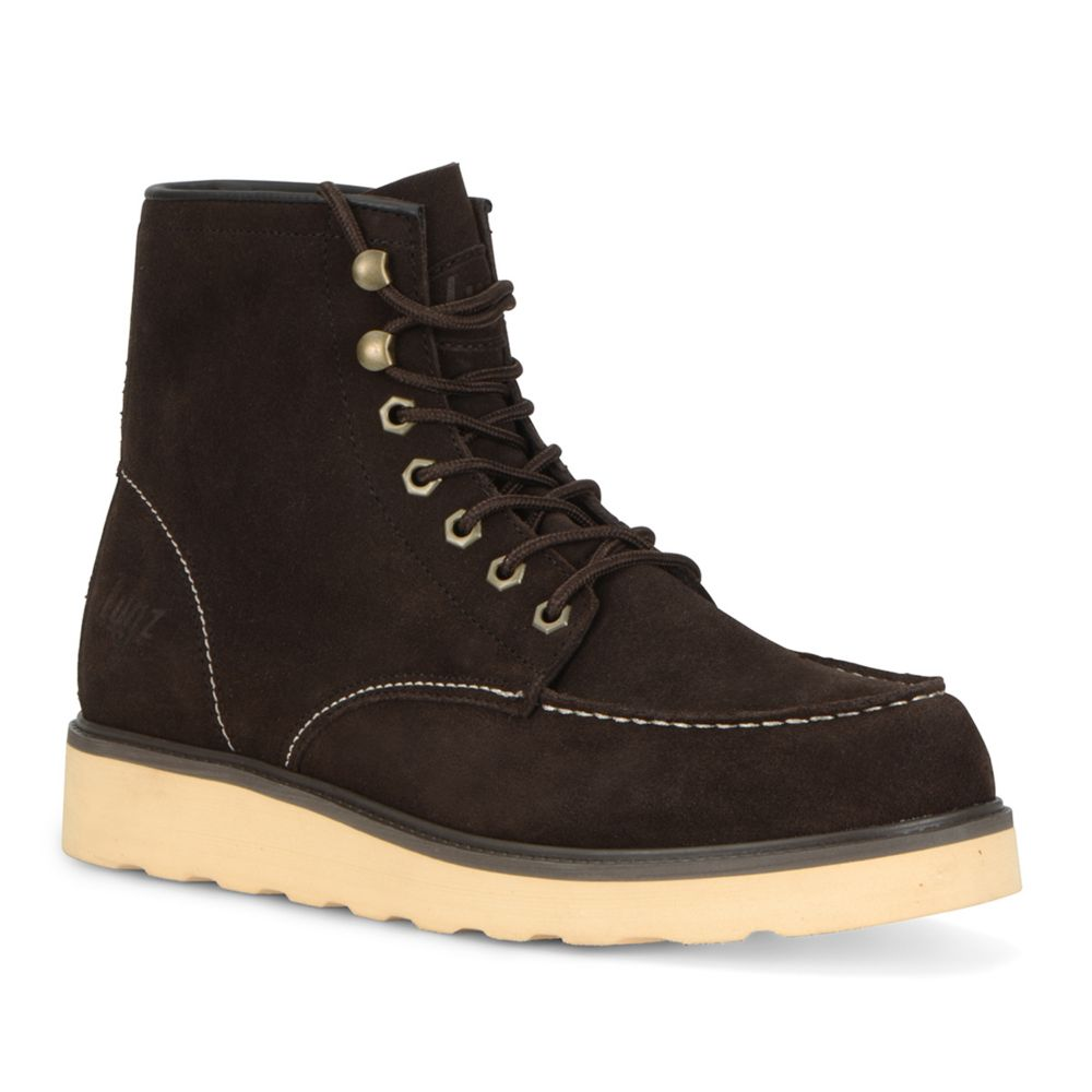 Lugz Prospect Men's Suede ... Steel Toe Work Boots