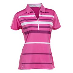 Plus Size Nancy Lopez Shock Short Sleeve Golf Polo
