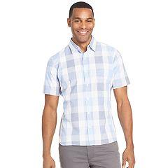 Men's Van Heusen Slim-Fit Never Tuck Button-Down Shirt