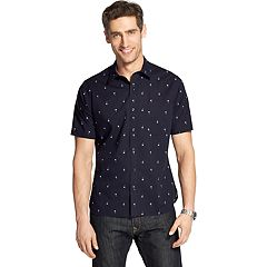 Men's Van Heusen Slim-Fit Never Tuck Button-Down Shirt