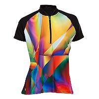 Plus Size Nancy Lopez Prism Short Sleeve Golf Polo