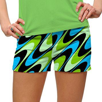 Women's Loudmouth Golf Swirl Print Shorts