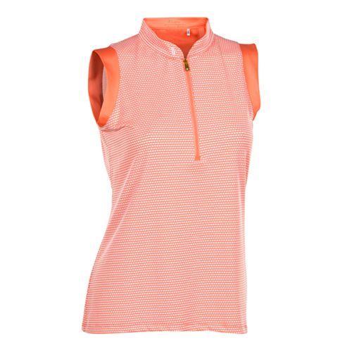 415dd966c0c77 Plus Size Nancy Lopez Geo Sleeveless Golf Polo
