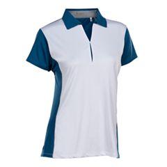 Plus Size Nancy Lopez Bee Short Sleeve Golf Polo