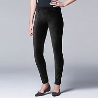 Simply Vera Vera Wang Women's Corduroy Leggings