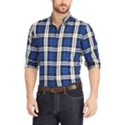 Big & Tall Chaps Classic-Fit Easy-Care Button-Down Shirt