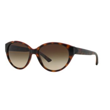 DKNY DY4120 57mm Oval Gradient Sunglasses