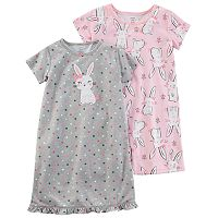 Girls 4-14 Carter's 2 pkNight Gown Set