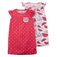 Girls 4-14 Carter's 2-pk. Night Gown Set