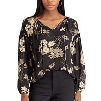 Women's Chaps Jacquard Top