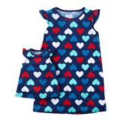 Girls 4-14 Carter's Night Gown & Doll Dress Set