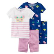 Baby Girl Carter's Mouse & Nautical Tops & Bottoms Pajama Set