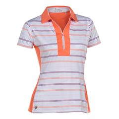 Plus Size Nancy Lopez Crystal Short Sleeve Golf Polo