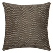 Rizzy Home Allover Beaded Sequin Throw Pillow