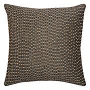 Rizzy Home Allover Beaded Sequin Throw Pillow