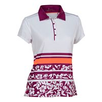 Plus Size Nancy Lopez Pretty Short Sleeve Golf Polo
