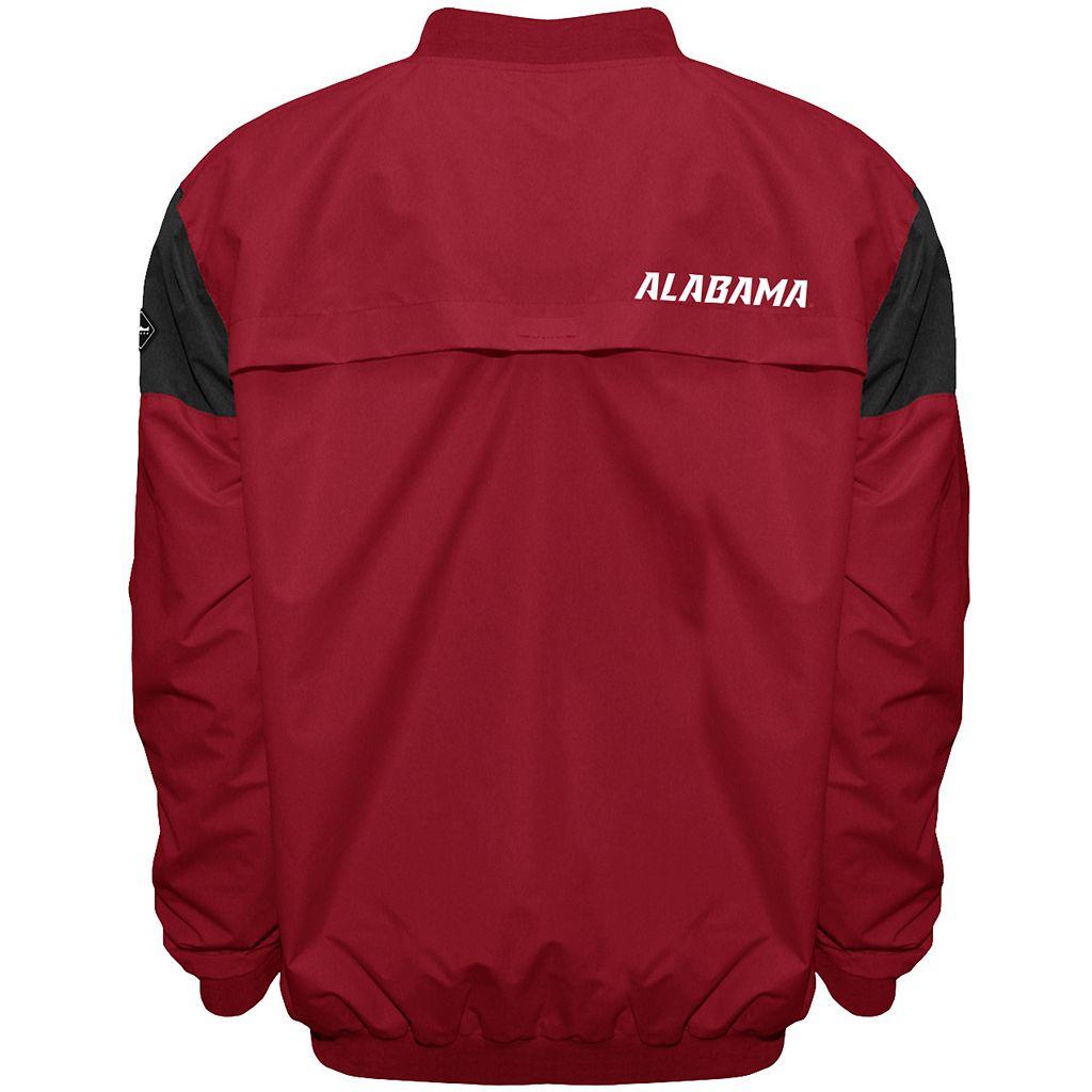 Men's Franchise Club Alabama Crimson Tide Focus Windshell Pullover
