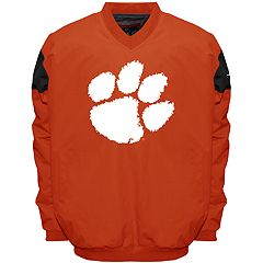 Men's Franchise Club Clemson Tigers Focus Windshell Pullover