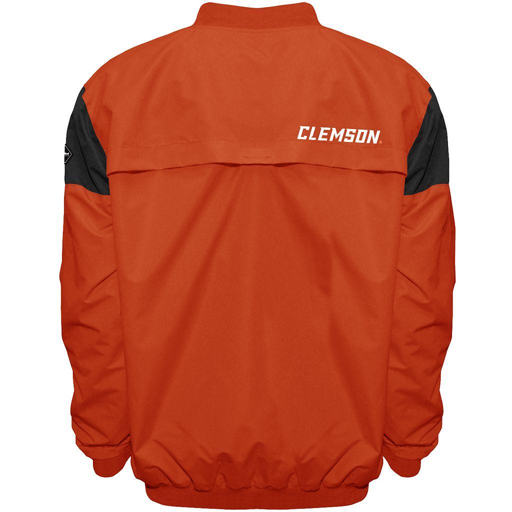 Men's Franchise Club Clemson Tigers Focus Windshell Pullover