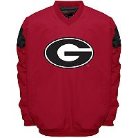 Men's Franchise Club Georgia Bulldogs Focus Windshell Pullover