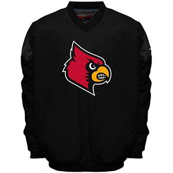 Men's Franchise Club Louisville Cardinals Focus Windshell Pullover