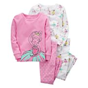 Girls 4-12 Carter's 4 pc Ballerina Pajama Set