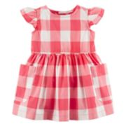 Baby Girl Carter's Checker Dress