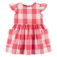Baby Girl Carter's Checker Dress