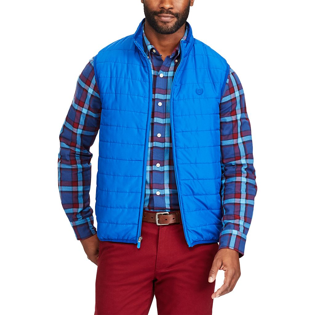 Big & Tall Chaps Packable Quilted Vest