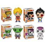 Funko Pop! Dragonball Z  Anime Vinyl Collectors Set: Super Saiyan Goku, Vegeta, Piccolo, Final Form Frieza