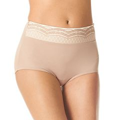 Women's Warner's No Pinching. No Problems. Lace Brief Panty RS7401P