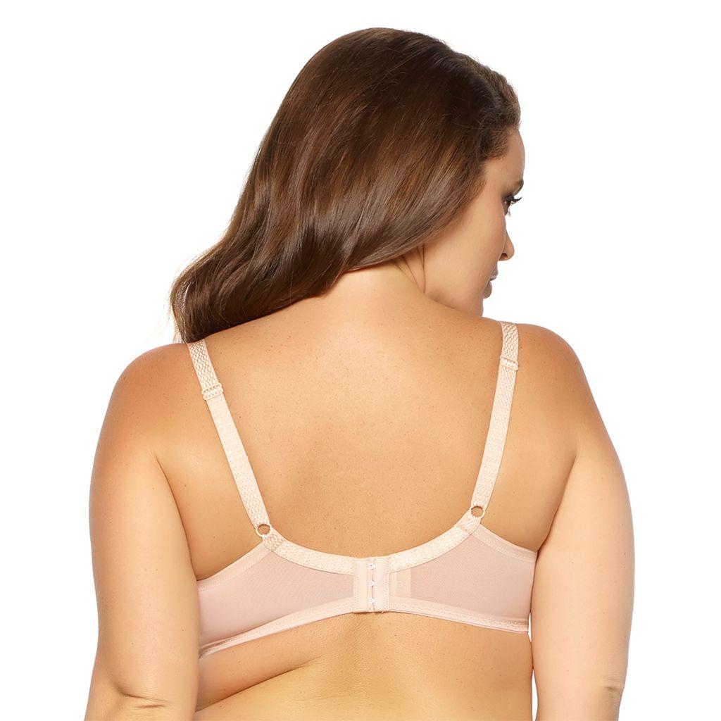 Paramour by Felina Bras: Dahlia Full-Figure Unlined Lace Bra 115048