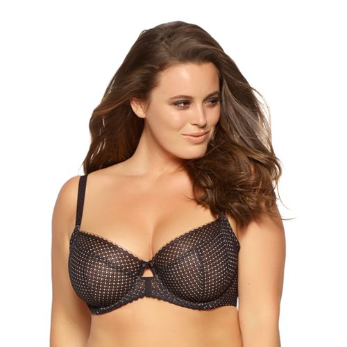 Paramour by Felina Dahlia Full-Figure Unlined Lace Bra 115048